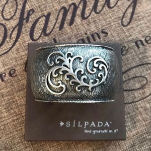 Silpada Scroll Cuff Bracelet